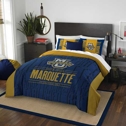 1COL849000115RET: NW NCAA F/Q Comforter Set, Marquette