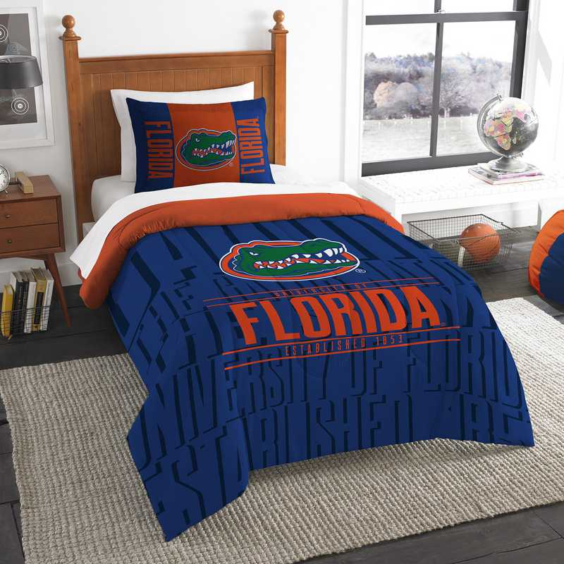 1COL862000016RET: NW NCAA Twin Comforter Set, Florida