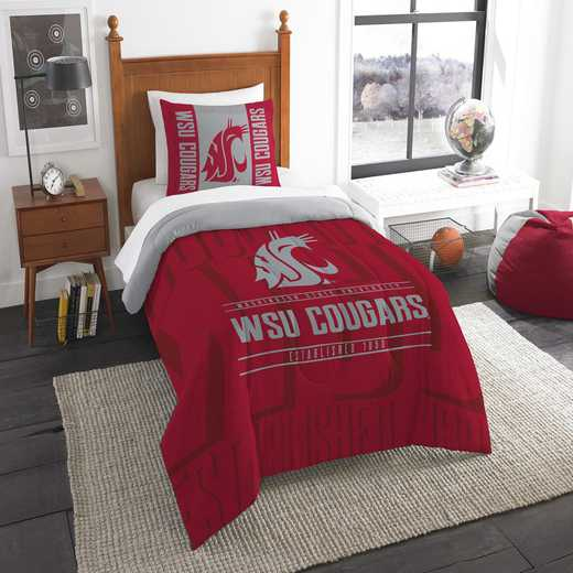 1COL862000017RET: NW NCAA F/Q Comforter Set, Washington St