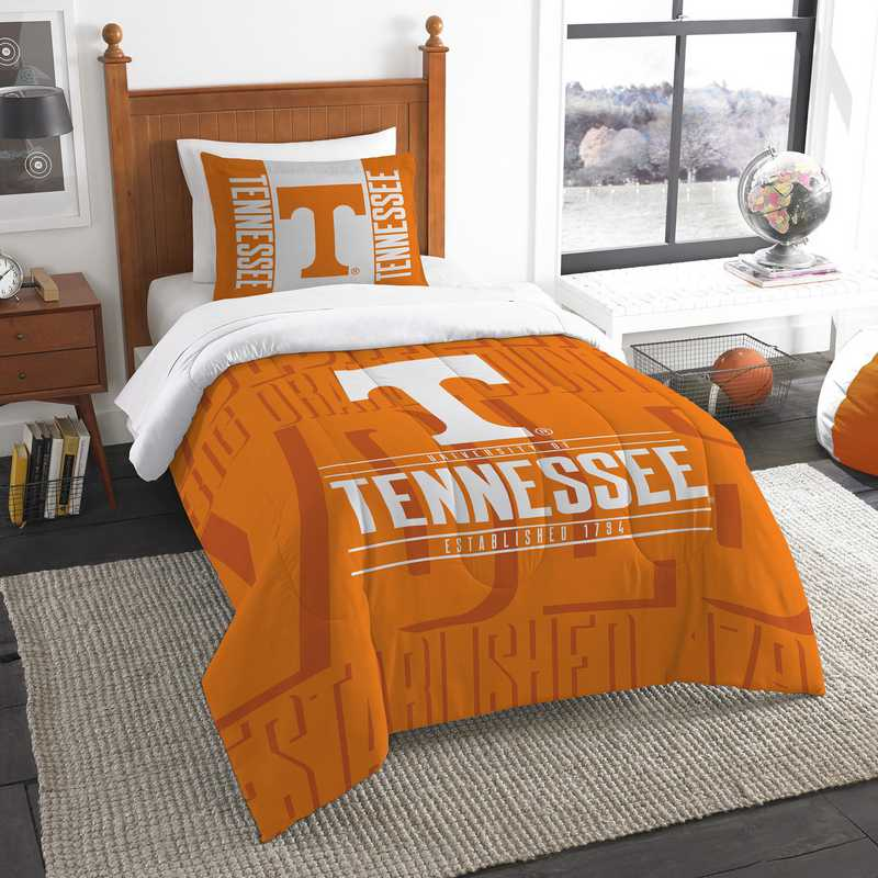 1COL862000019RET: NW NCAA Twin Comforter Set, Tennessee
