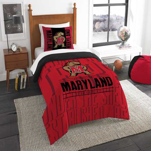 1COL862000027RET: NW NCAA F/Q Comforter Set, Maryland