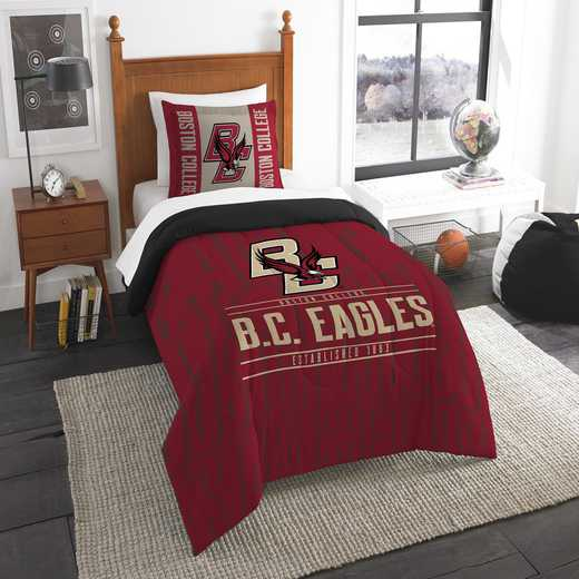 1COL862000063RET: NW NCAA F/Q Comforter Set, Boston Col