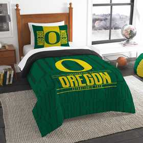 1COL862000081RET: NW NCAA Twin Comforter Set, Oregon