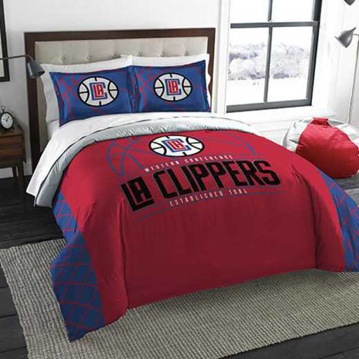 1NBA849000012RET: NWNBA F/Q RS Bedding Set, Clippers