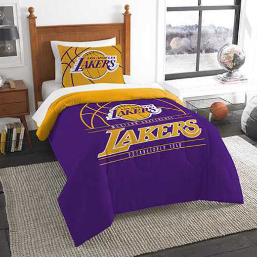 1NBA862010013RET: NW NBA T RS Bedding Set, Lakers