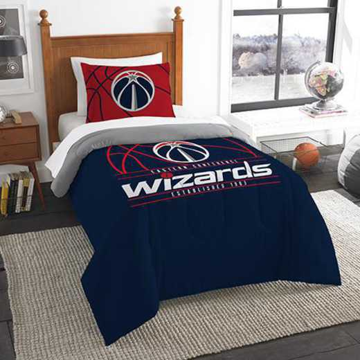 1NBA862010029RET: NW NBA T RS Bedding Set, Wizards