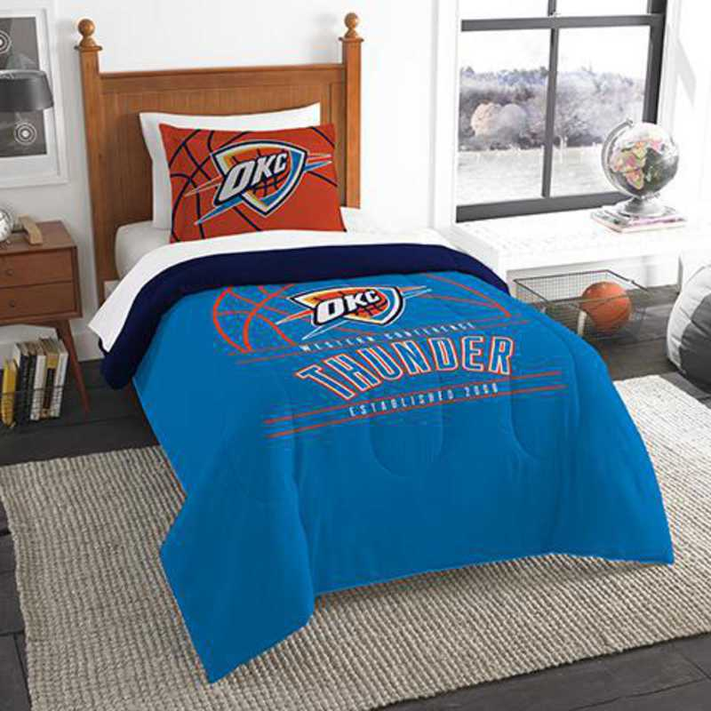 1NBA862010033RET: NW NBA T RS Bedding Set, Thunder