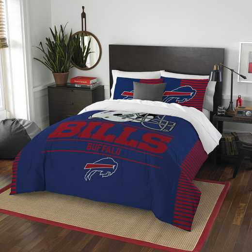 1NFL849000003RET: NW NFL  Anthem F/Q Comf Set, Bills