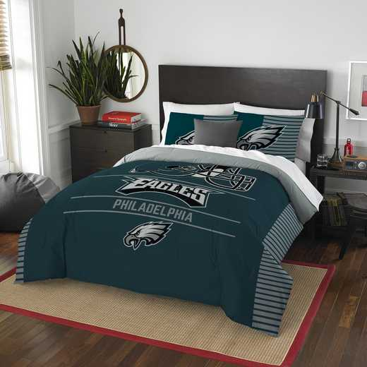 1NFL849000011RET: NW NFL  Anthem F/Q Comf Set, Eagles