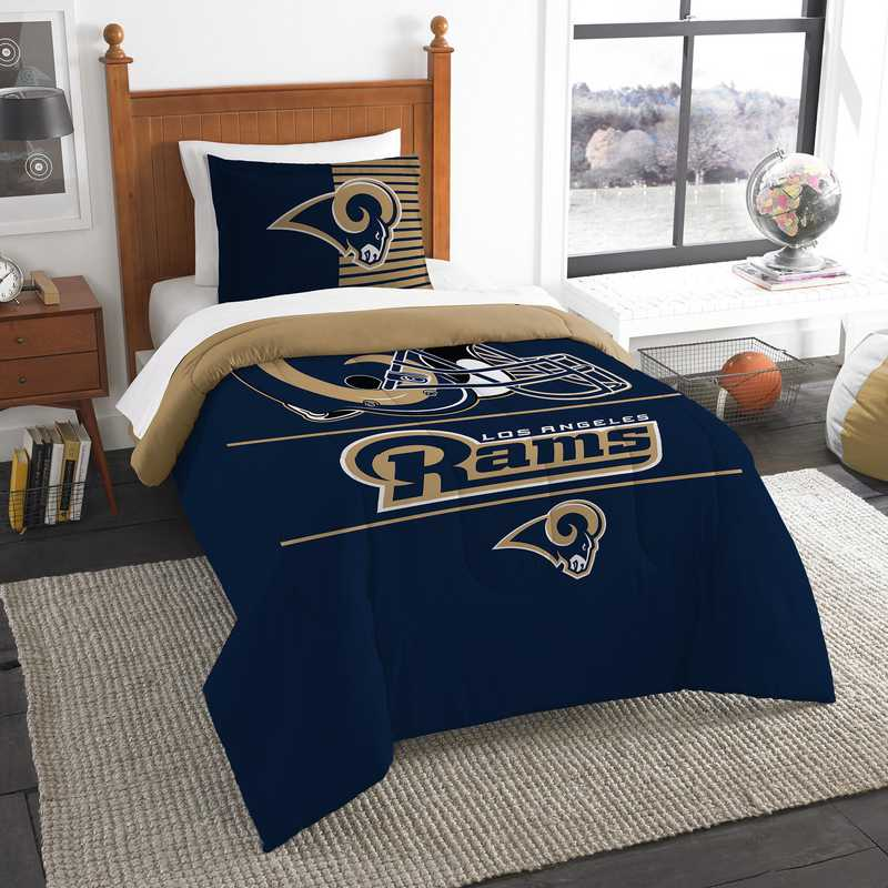 1NFL862000083RET: NW NFL  Anthem Twin Comf Set, Rams