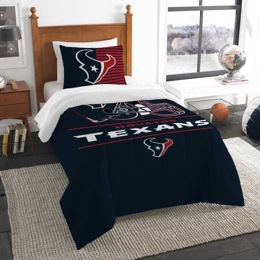 1NFL862000119RET: NW NFL  Anthem Twin Comf Set, Texans