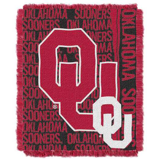 1COL019030012RET: NW COL Double Play Tapestry Throw, OK