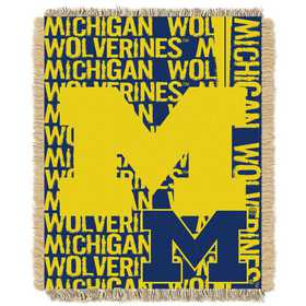 1COL019030021RET: NW COL Double Play Tapestry Throw, MI