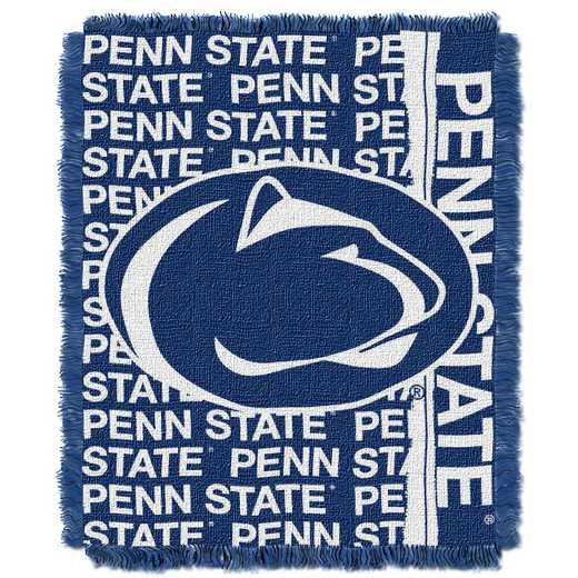 1COL019030024RET: NW COL Double Play Tapestry Throw, PNST