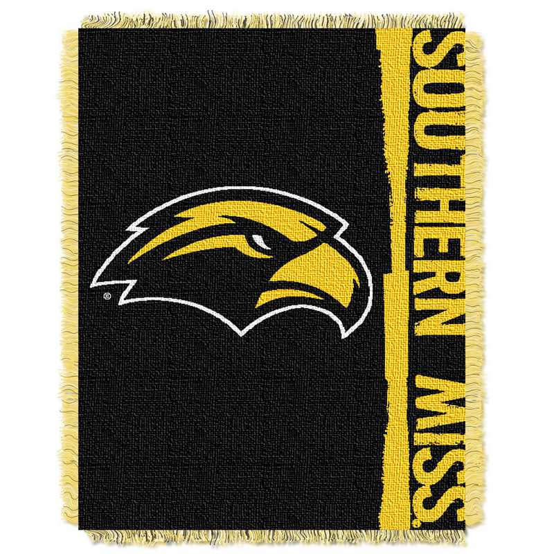 1COL019030044RET: NW COL DP Tapestry Throw, Southern Miss