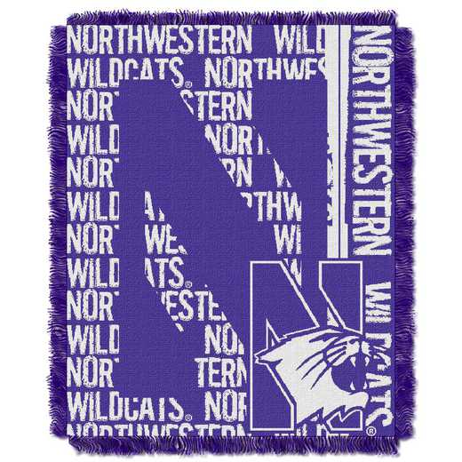 1COL019030059RET: NW COL DP Tapestry Throw, Northwestern