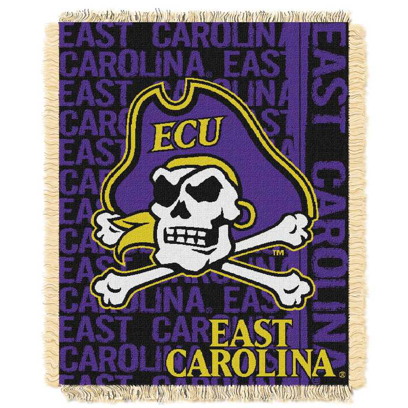 1COL019030060RET: NW COL DP Tapestry Throw, East Carolina