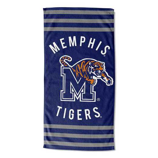 1COL620050049RET: COL 620 Memphis Stripes Beach Towel