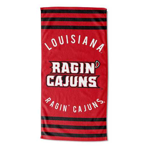 1COL620050140RET: COL 620 Louisiana @Lafayette Stripes Beach Towel