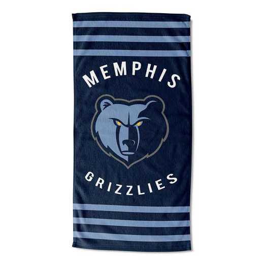1NBA620030028RET: NBA 620 Grizzlies Sripes Beach Towel