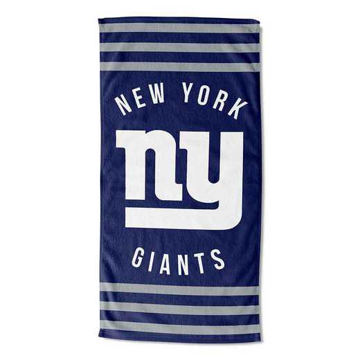 1NFL720040081RET: NFL 720 NY Giants Stripes Beach Towel