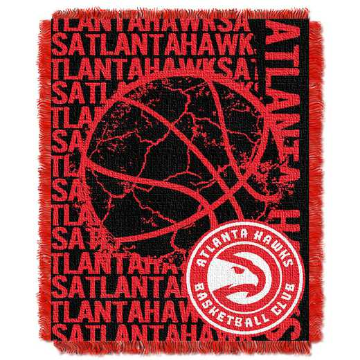 1NBA019040001RET: NBA  JACQUARD THROW, Hawks