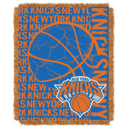 1NBA019040018RET: NBA  JACQUARD THROW, Knicks