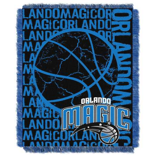 1NBA019040019RET: NBA  JACQUARD THROW, Magic
