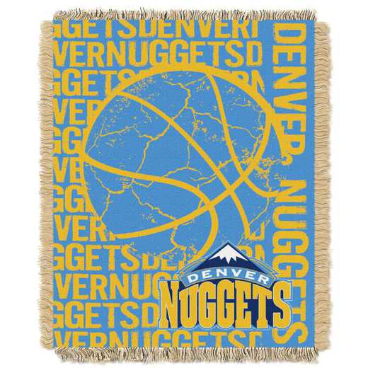 1NBA019040007RET: NBA  JACQUARD THROW, Nuggets