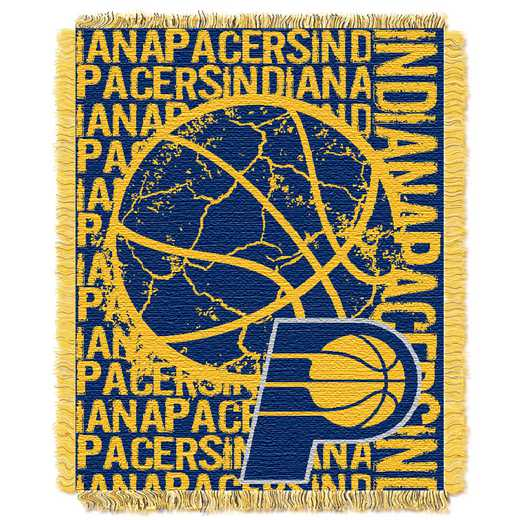1NBA019040011RET: NBA  JACQUARD THROW, Pacers