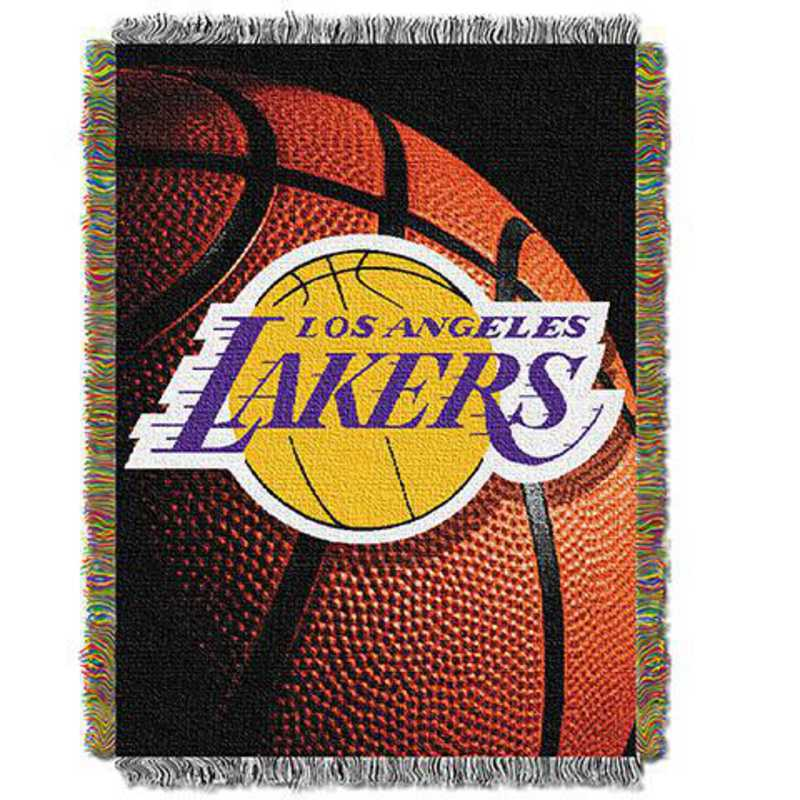 1NBA051030013RET: NW NBA Photo Real Tap Throw, Lakers