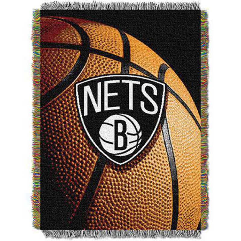 1NBA051030017RET: NW NBA Photo Real Tap Throw, Nets