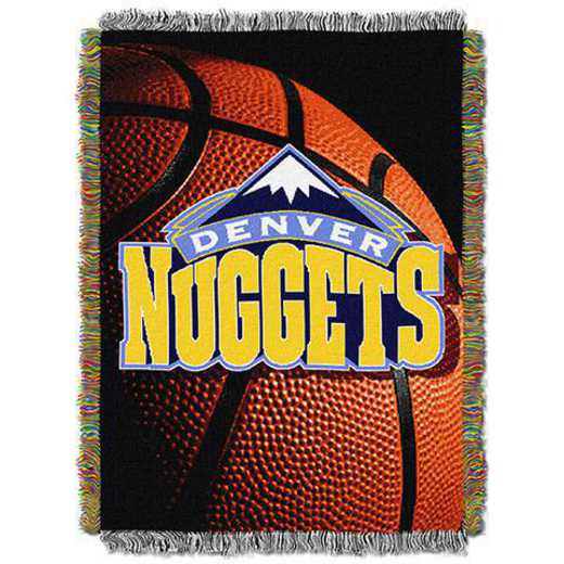 1NBA051030007RET: NW NBA Photo Real Tap Throw, Nuggets