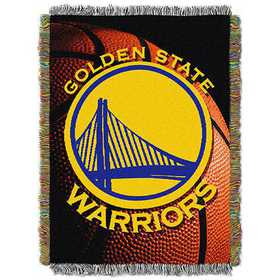 1NBA051030009RET: NW NBA Photo Real Tap Throw, Warriors
