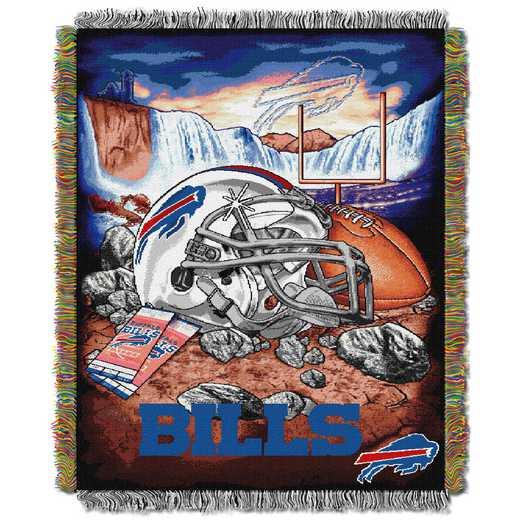 1NFL051010003RET: NW NFL HFA Tapestry Throw, Bills