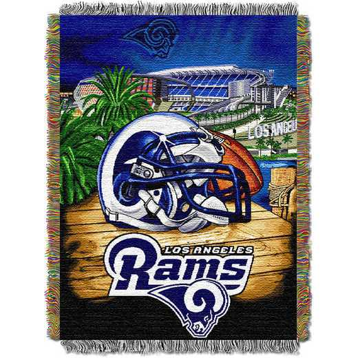 1NFL051010083RET: NW NFL HFA Tapestry Throw, Rams