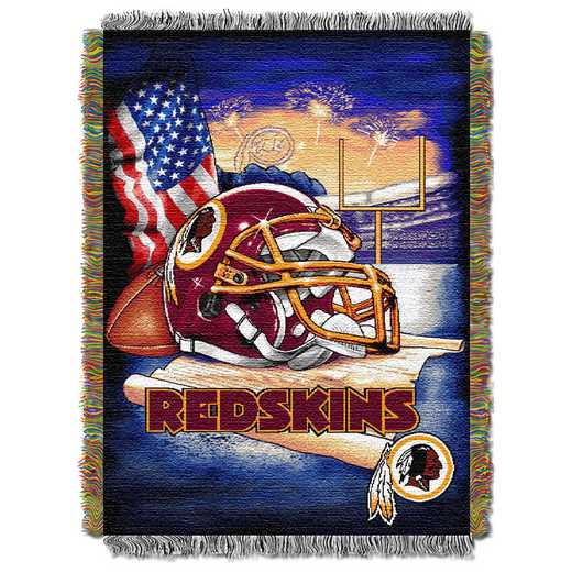 1NFL051010020RET: NW NFL HFA Tapestry Throw, Redskins