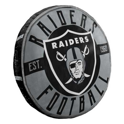 1NFL148000019RET: NW NFL Raiders Cloud Pillow