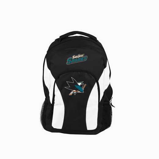 C11NHLC10008020RTL: NHL Sharks Backpack Draftday