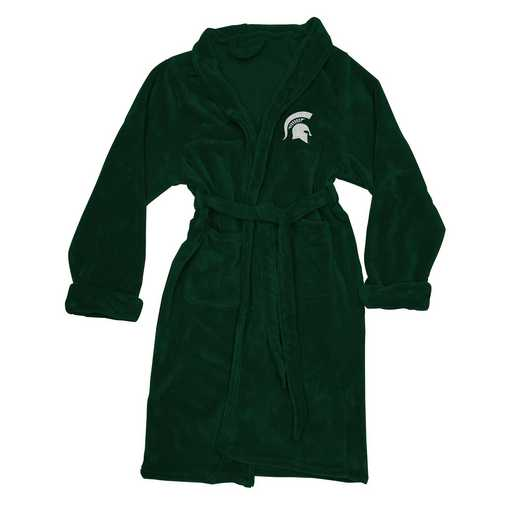 1COL349000031RET: COL 349 Michigan State L/XL Bathrobe