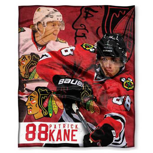 1PLY575003003RET: NHL 575 Blackhawks - Patrick Kane Silk Touch Throw
