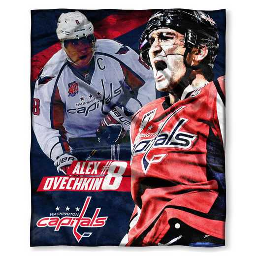 1PLY575003007RET: NHL 575 Capitals - Alex Ovechkin Silk Touch Throw