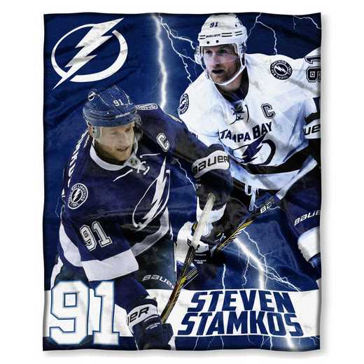 1PLY575003012RET: NHL 575 Lightning - Steven Stamkos Silk Touch Throw