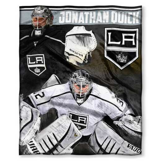 1PLY575003023RET: NHL 575 LA Kings - Johnathan Quick Silk Touch Throw