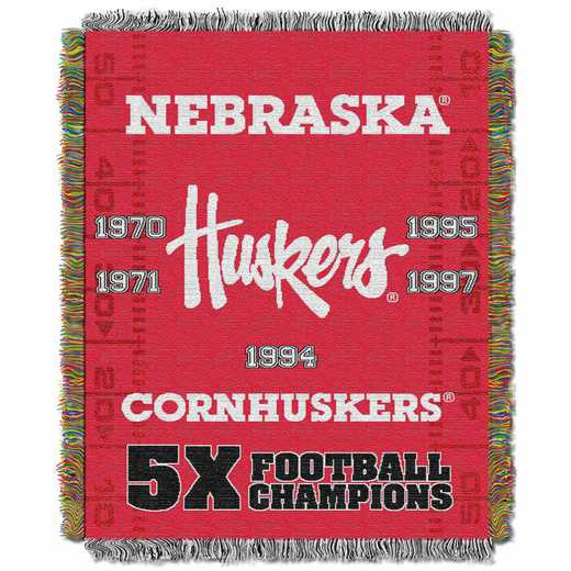 1COL051069006RET:  48x60 Tapestry Commemorative NEBRASKA