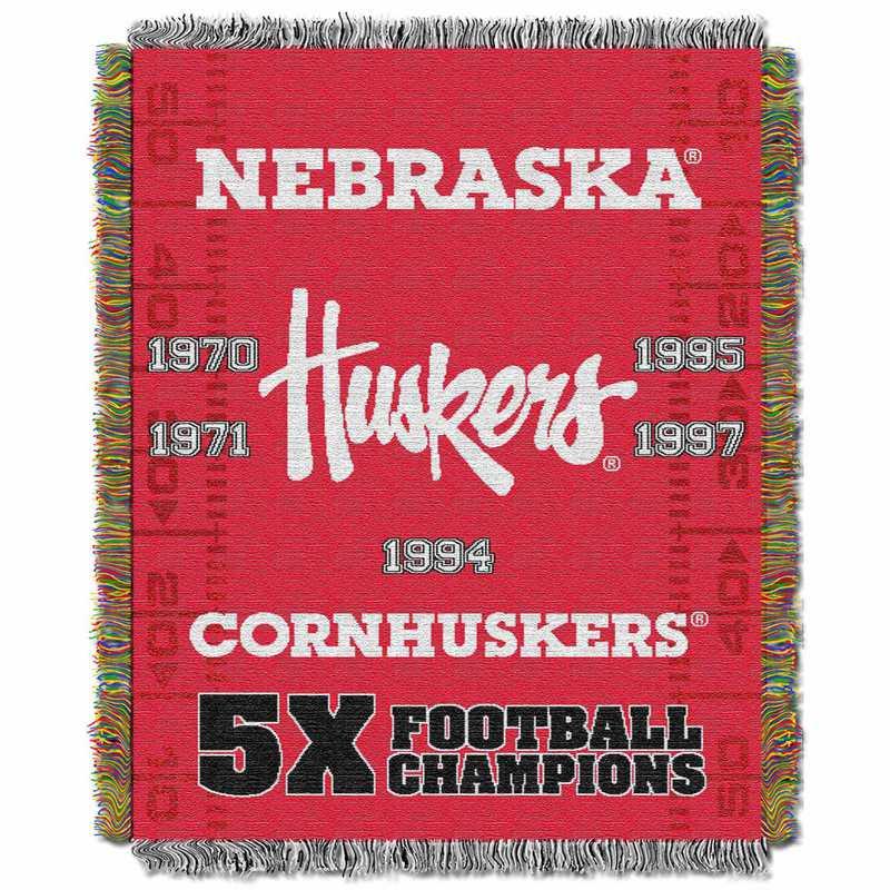 1COL051069006RET:  48x60 Tapestry Commemorative NEBRASKA
