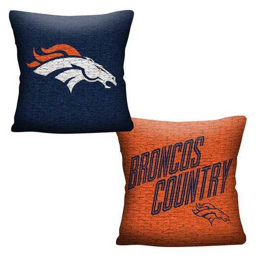 1NFL129000004RET: NFL 129 Broncos Invert Pillow