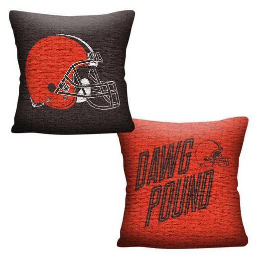 1NFL129000005RET: NFL 129 Browns Invert Pillow