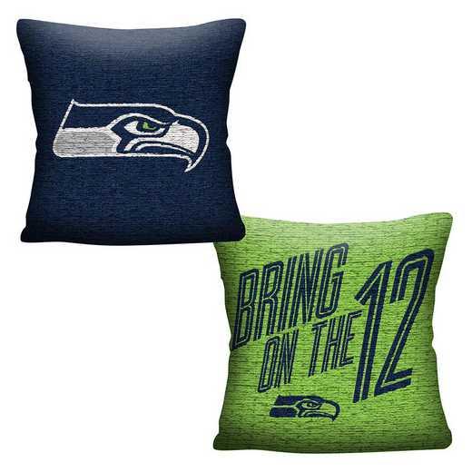 1NFL129000022RET: NFL 129 Seahawks Invert Pillow