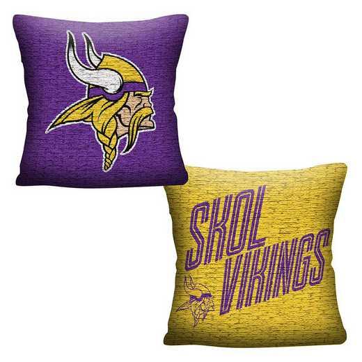 1NFL129000023RET: NFL 129 Vikings Invert Pillow